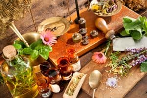 homeopathiscje druppels en geneesmiddelen